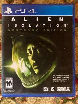 Juego ps4 Alien Isolation (Nostromo Edition)