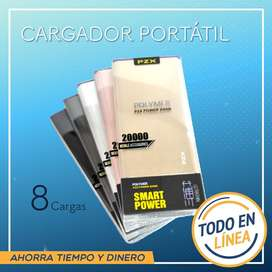 Cargador Portatil Pzx 20000 Mhz Nuevo