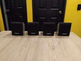 4 parlantes Samsung para teatro en casa