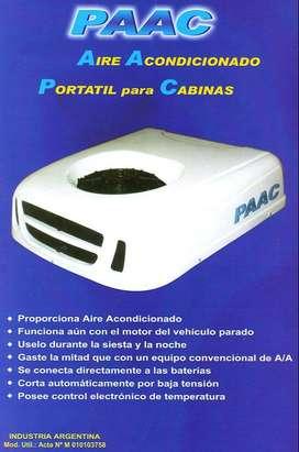 Aire acondicionado a batería 24 V