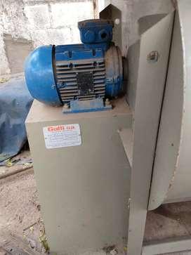 Extractor centrífugo de 3hp trifásico