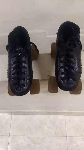 Patines roller top exelente estado talla 31