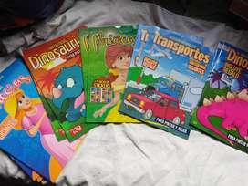 Libro Para Niños Para Pintar Y Jugar Con Stickers X 4