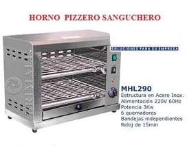 Horno Sanguchero Pizzero Elèctrico Venta Nuevo