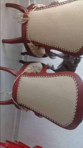 Vendo 2 sillas Isabellinas