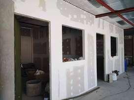 trabajos y construccion  en drywall