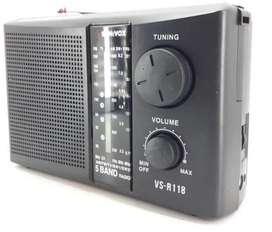 Radio pila y corriente sonivox