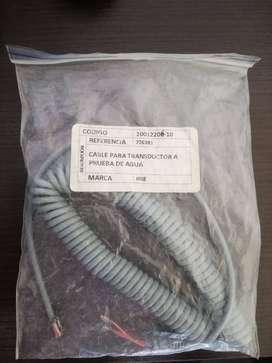 Cable Para Transductor A Prueba De Agua 726381 Para Detector Fetal Modelo : D920 Y Fd1 : Huntleigh