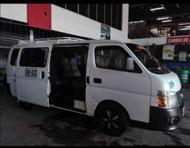 Vendo súper económica  Microbús Nissan Urvan 2012