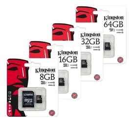 Memorias USB y Micro SD Kingston Originales y Baratas