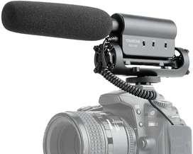 Micrófono Takstar Sgc598 Video Camara Dslr / Canon / Sony / Nikon / Celular