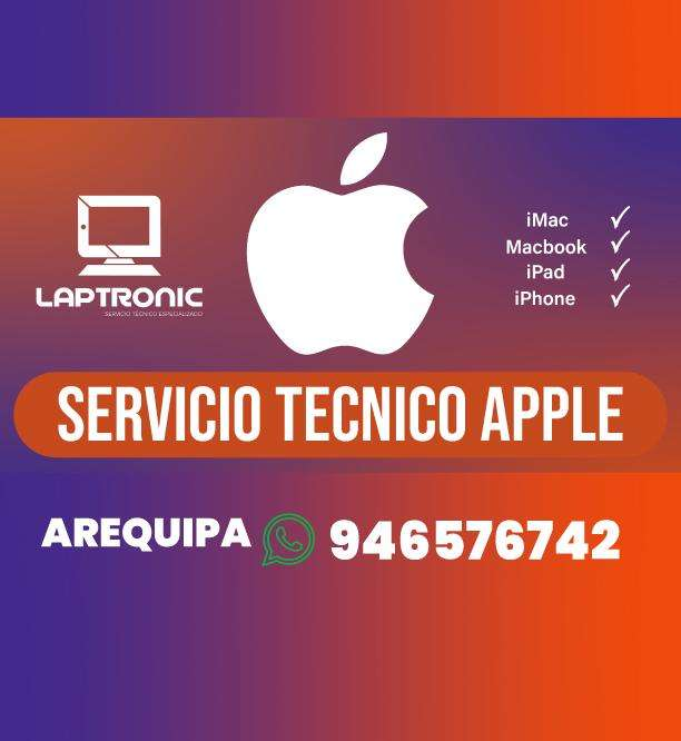 Servicio tecnico Apple Reparacion - Arequipa Macbook iMac iPad iPhone Apple Watch 0