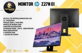 GRAN OFERTA MONITOR HP Z27N G1 27 PULGADAS
