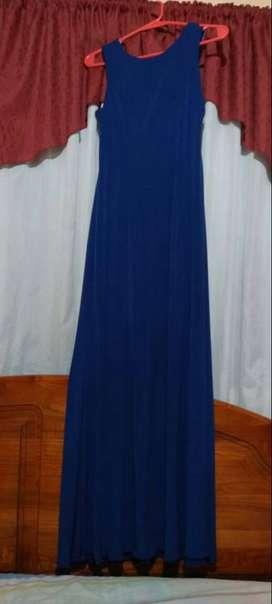 Vestido azul talle m