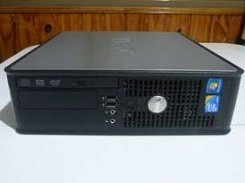 PC Dell Optiplex 780, Core2Duo E6400 2.13GHz, HD 160GB, 2GB RAM