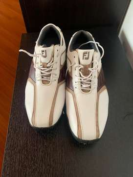 Zapatos y guantes de golf