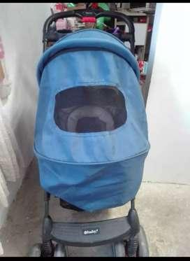 Coche azul marca baby economico