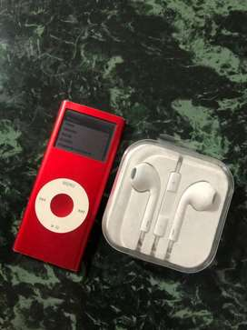 Ipod nano product red / musica mp3 audio reproductor sonido