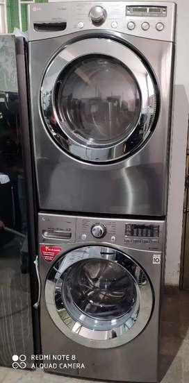 Torre de lavadora secadora de 44 libras LG (producto de exhibición)
