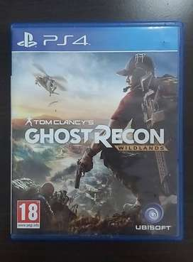 Vendo Ghost Recon Para Play 4