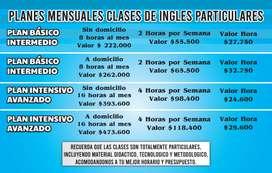 CLASES PARTICULARES EN INGLÉS