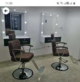 Muebles de peluquería y barberia