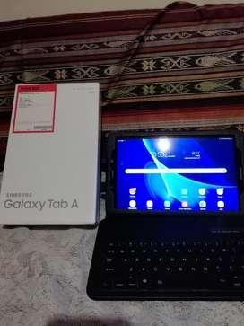 Samsung Tab a 10.1 con teclado wifi