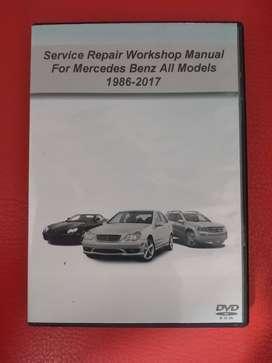 Manual De Taller Y Servicio Mercedes Benz 1986-2017 Español