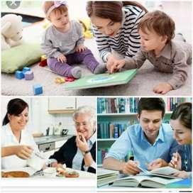 Cuido Niños , Jovenes y Adultos Mayores