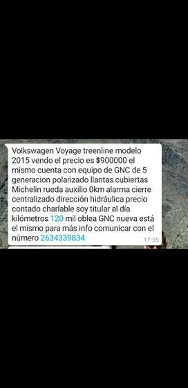 Vendo Volkswagen Voyage