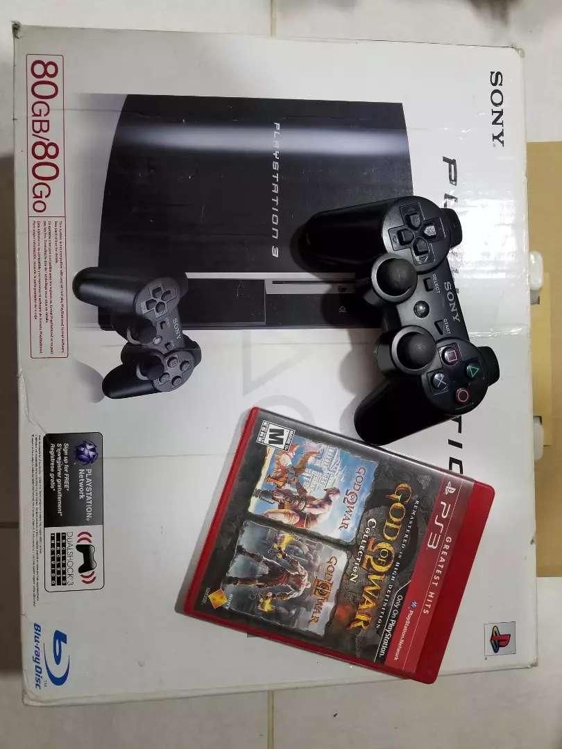 PlayStation 3 completa con juego para repuesto 0