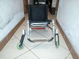 Silla ruedas semideportiva aluminio