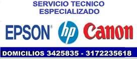 repaRACION y mantenimiento de iMPREsoras en cali arreGLO SERVICO IMPresoras EPSON HP CANON suR nOrTE