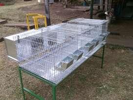 Jaula para  conejos  y cuyes