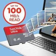 Memoria Original Sandisk Micro Sd 64gb 100 Mbs Con Adaptador