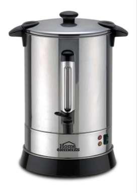 Cafetera 30 tazas NUEVO Home Elements.