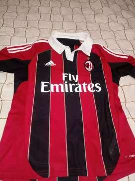 Camiseta milan de italia