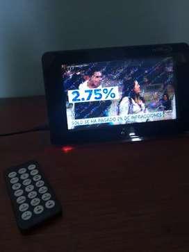 "Vendo Televisor Portátil Premium 7"""
