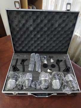 Det de microfonos bateria Pro DJ M8 7K