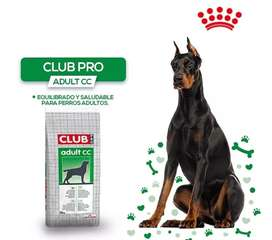Royal canin club adulto pro 15 kg toda raza