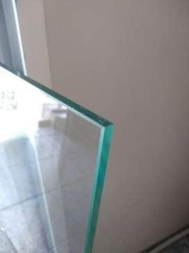 Vidrio templado de 8 mm 80 x 75 cm nuevo