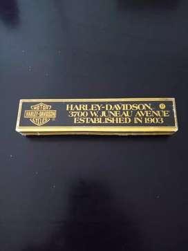 Lapicera de pluma Harley