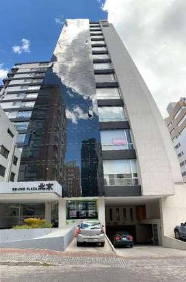 Moderno departamento amoblado de 3 dormitorios, Sector Republica del Salvador Cerca del Megamaxi