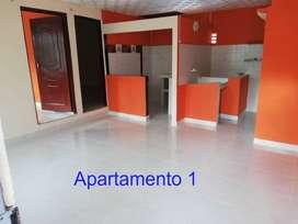 Arriendo 2 apartamentos econcómicos