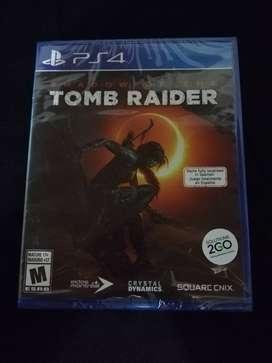 Vendo o cambio Shadow Tomb Raider Nuevo sellado Para PS4