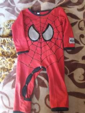Pijamas entero hombre araña