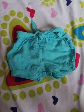 Pantaloneta talla 12