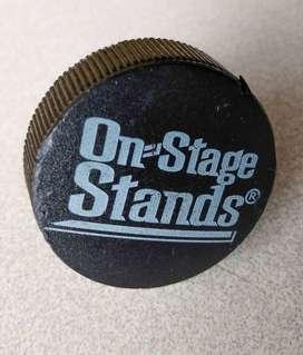 Botón OnStage Stands perno perilla luz telon