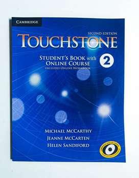 Libro de Inglés TOUCHSTONE 2
