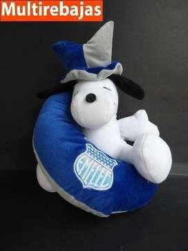 Peluche Snoopy 29cm Con El Equipo De Emelec, Gran Oferta